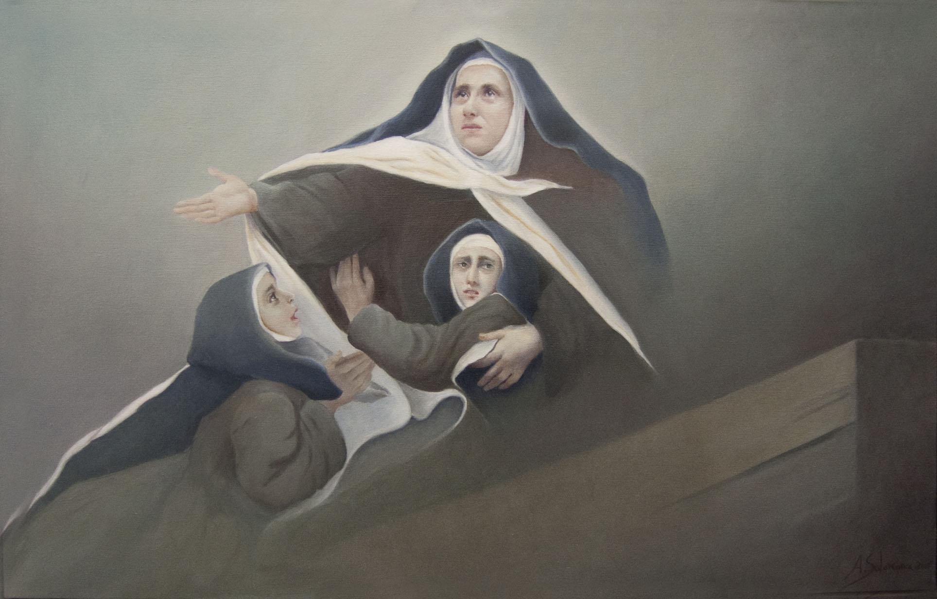Sta. Teresa cruzando el Guadalquivir