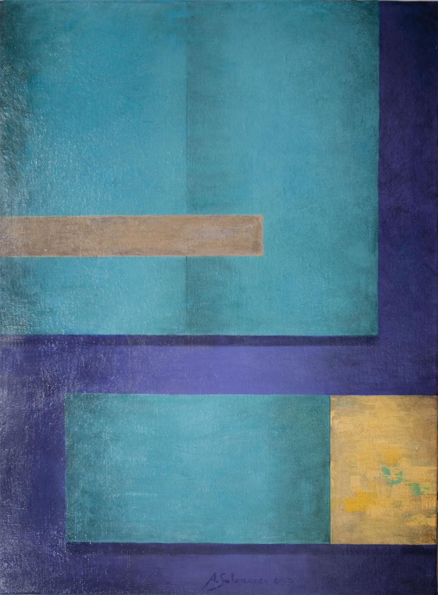 Composición azul